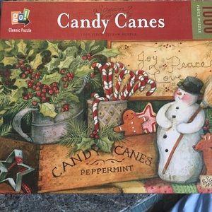 Puzzle, CANDY CANES, 1000 pieces